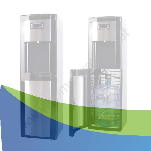 Three Taps Bottle Loading Stand Water Dispenser Bottle